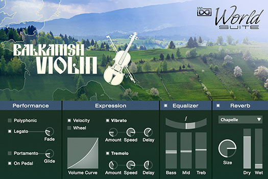 UVI World Suite | Balkanish Violin UI
