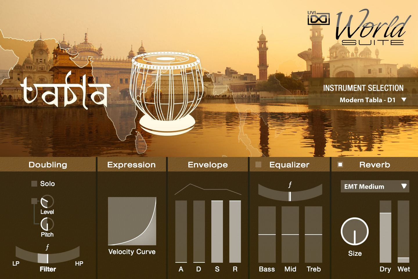 UVI World Suite | Tabla UI