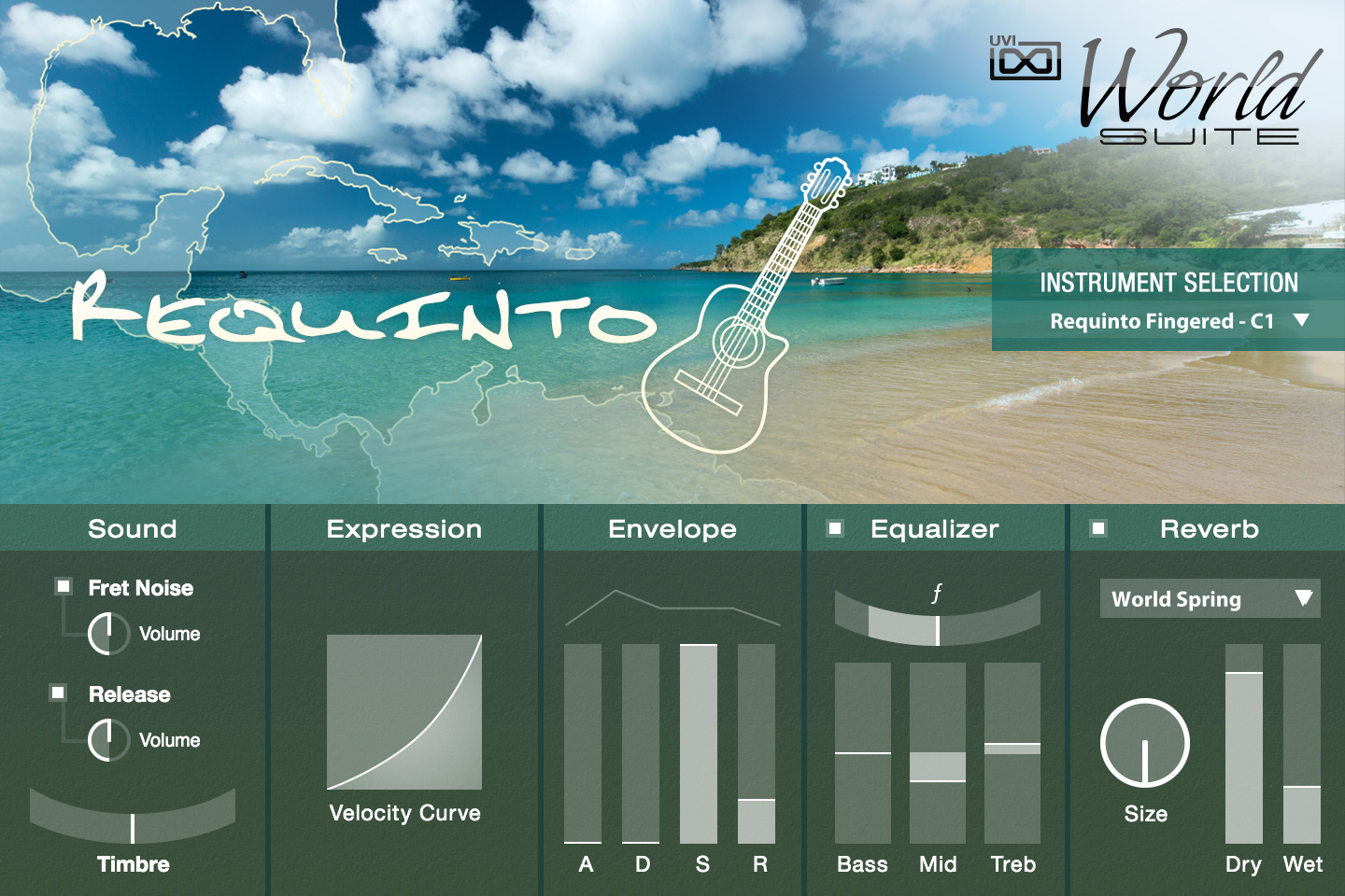 UVI World Suite | Requinto UI