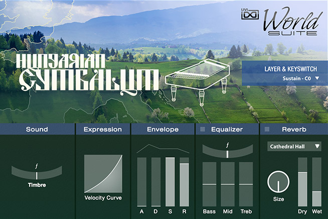 UVI World Suite | Eastern Europe GUI