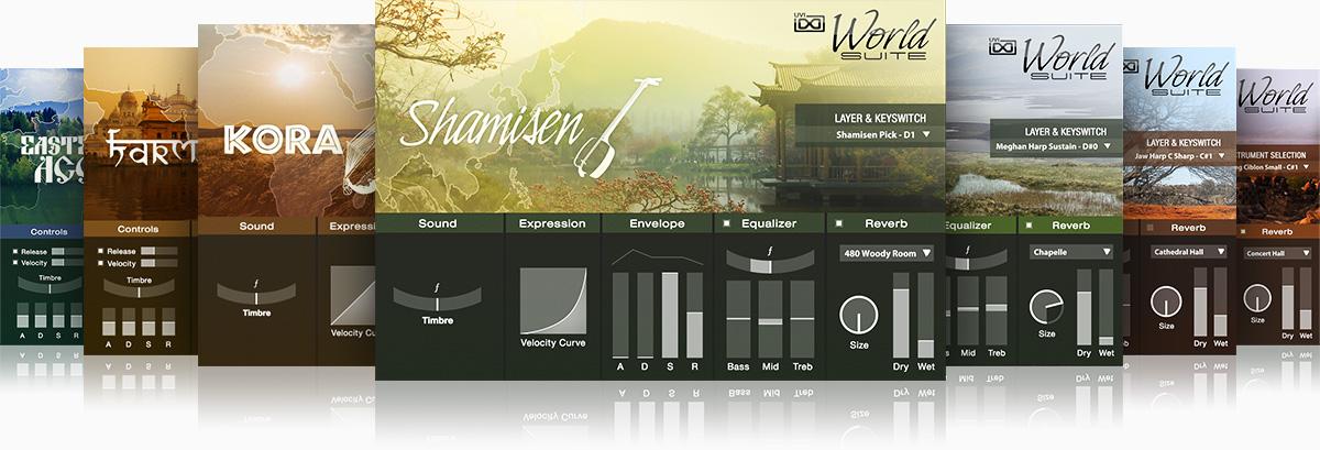 UVI World Suite |GUI