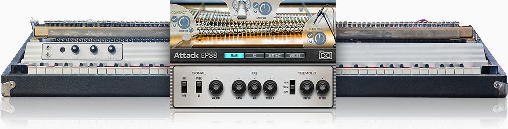 UVI Attack EP88 | GUI
