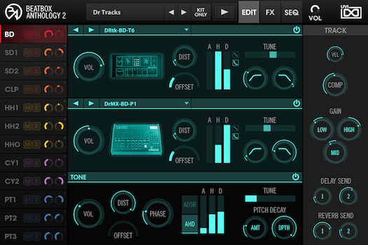 BeatBox Anthology 2 - Edit GUI