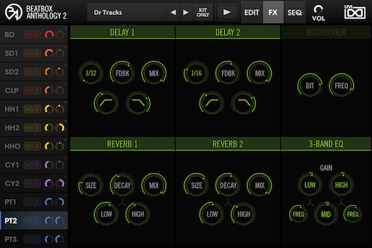 BeatBox Anthology 2 - FX GUI