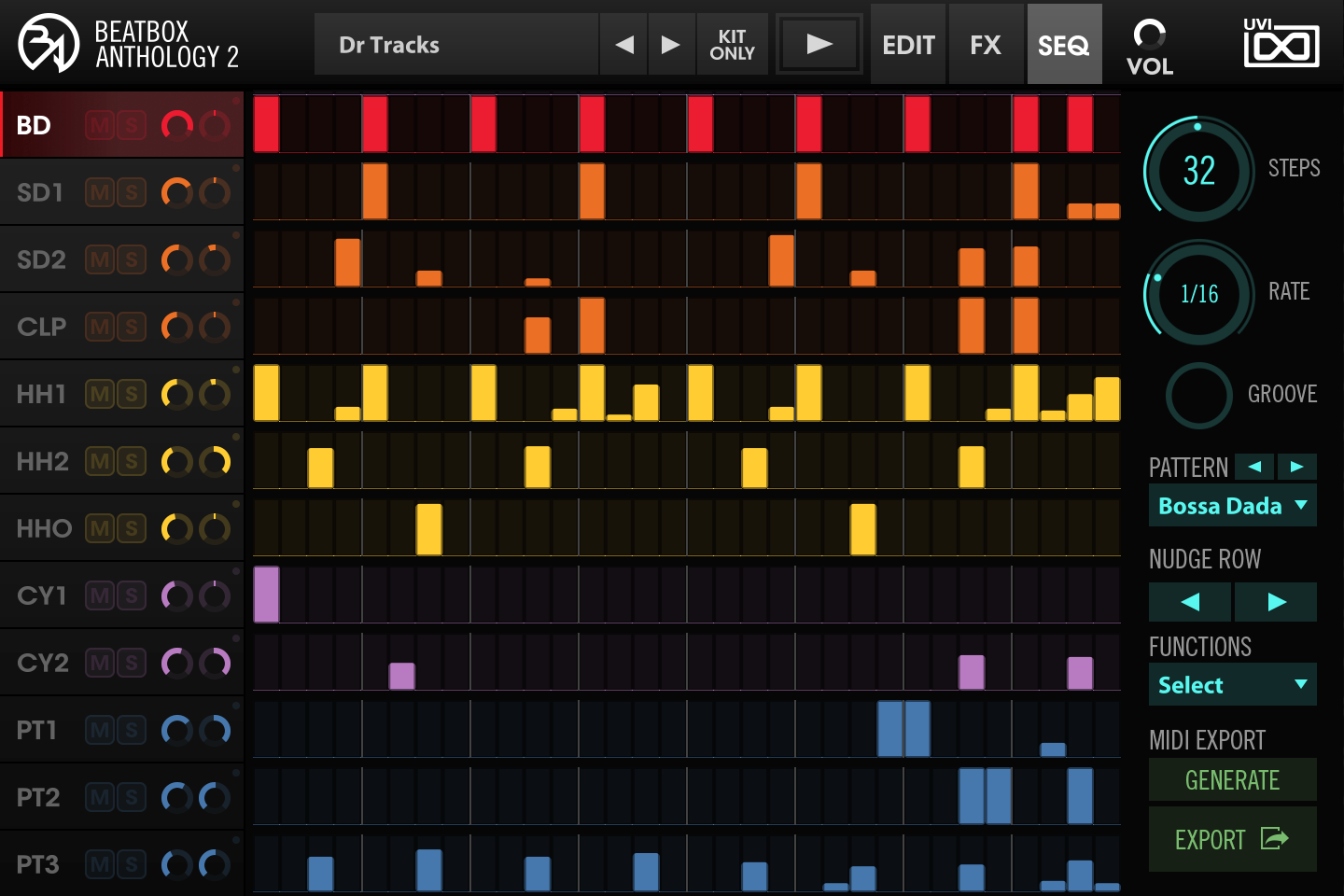 BeatBox Anthology 2 - SEQ GUI