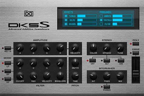 UVI Digital Synsations Volume 2 - DK5S |GUI