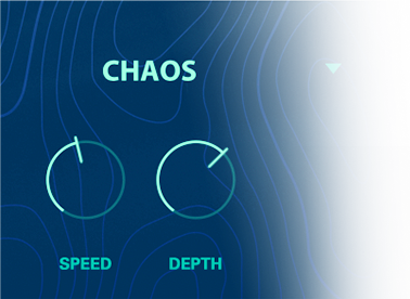 UVI Drone | Chaos Modulation GUI