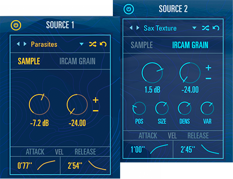 UVI Drone | Dual Sample GUI
