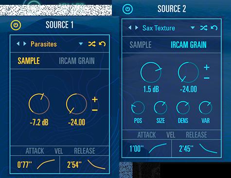 UVI Drone | Dual Sample GUI