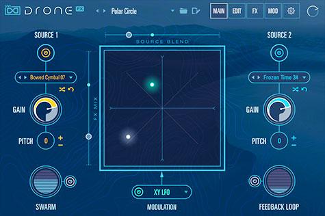 UVI Drone | Sound Exploration GUI