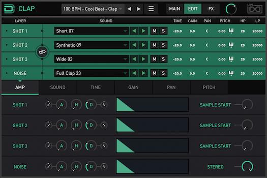 Drum Designer | Clap Amp