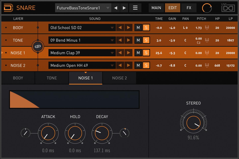 Drum Designer | Snare Noise 1