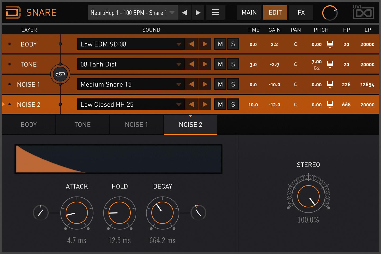 Drum Designer | Snare Noise 2