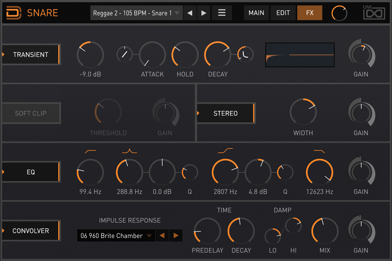 Drum Designer | Snare FX