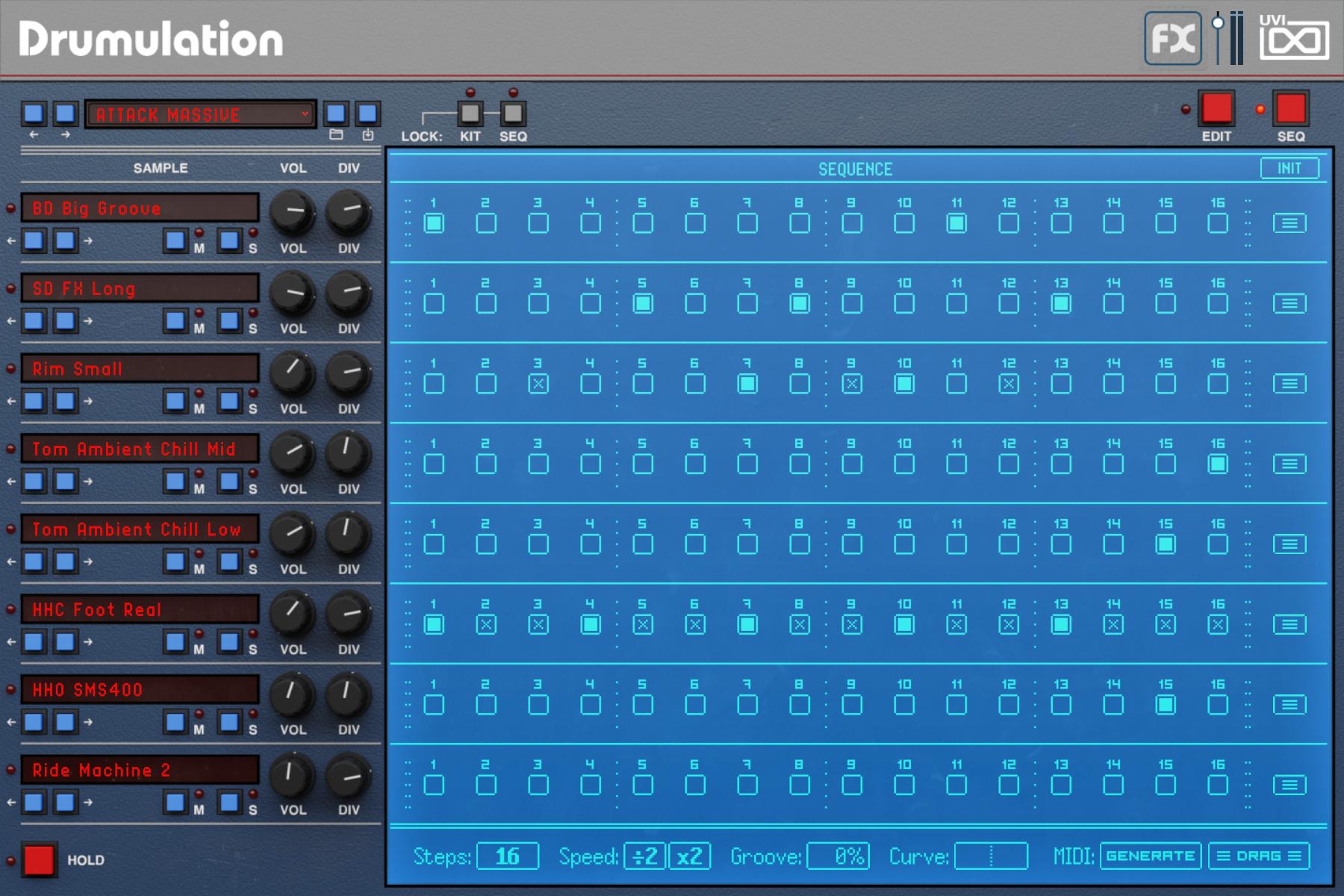 Emulation II+ | Drumulation Sequencer