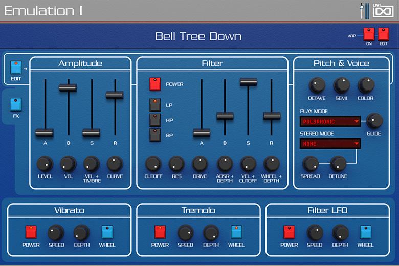 UVI Emulation II+ | Emulation I