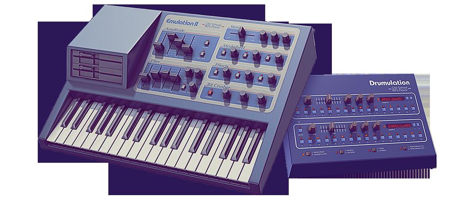UVI Emulation II - Virtual Vintage Sampler Instrument