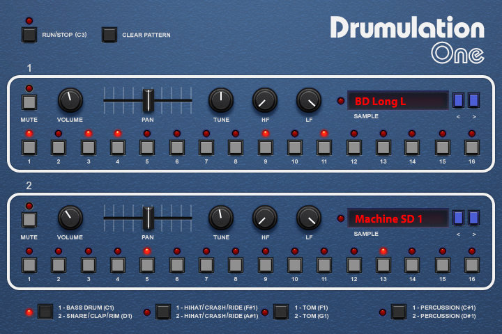 Drumulation | GUI
