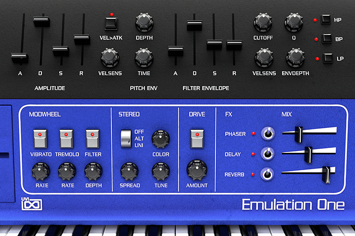 UVI Emulation One - An 80's Virtual Instrument Library