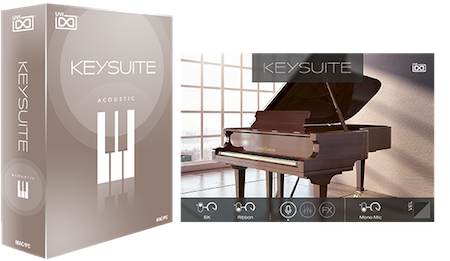 UVI Key Suite Acoustic | GUI