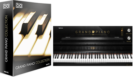 UVI Grand Piano Collection | GUI