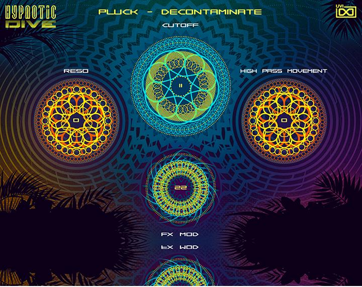 UVI Hypnotic Dive | GUI