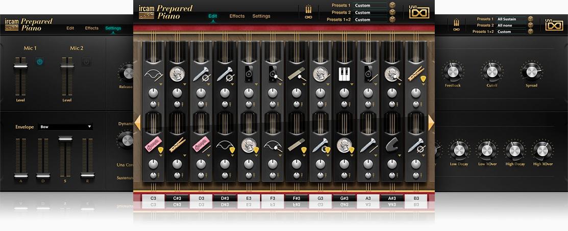 UVI IRCAM Prepared Piano - Virtual Grand Piano