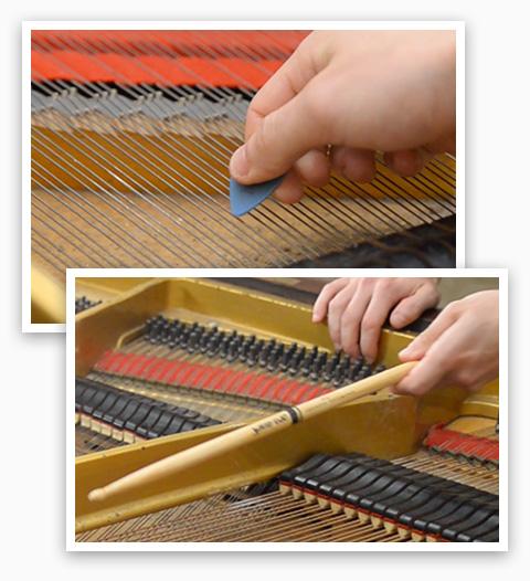 UVI IRCAM Prepared Piano | Effects