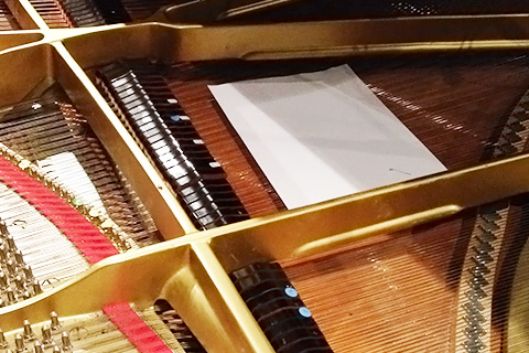 UVI IRCAM Prepared Piano | Objects Placed on the Strings