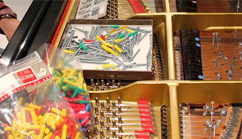 UVI IRCAM Prepared Piano | Preparations