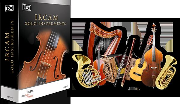 UVI IRCAM Solo Instruments - Classical Instruments Suite