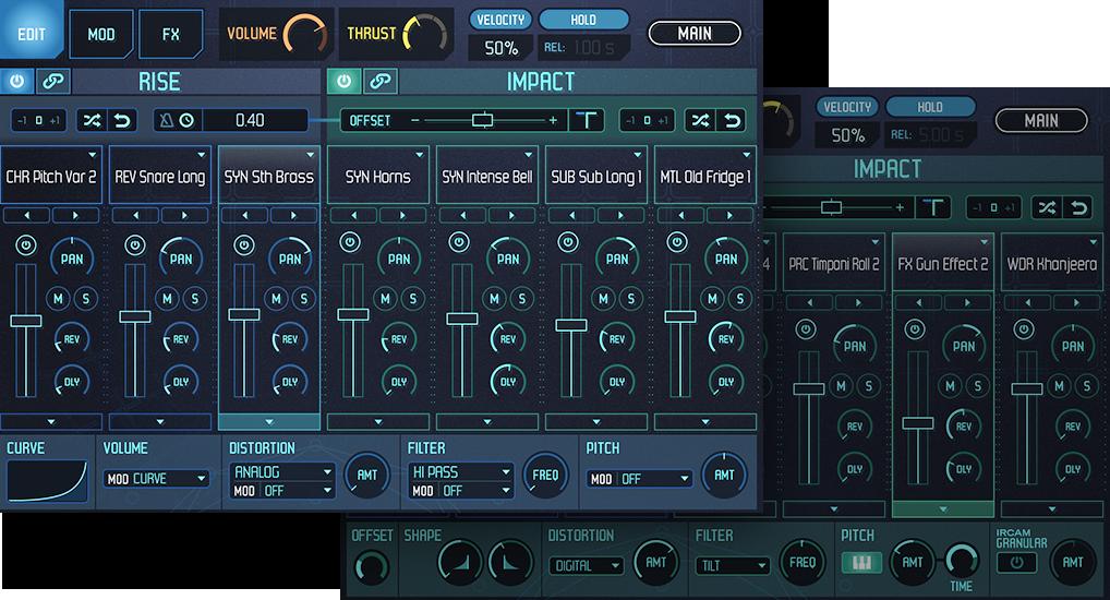 UVI Meteor | GUI Edit