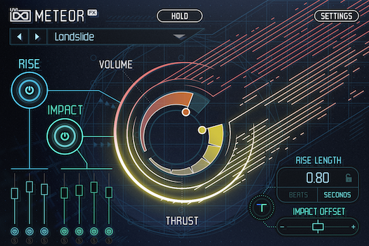 UVI Meteor |GUI Main