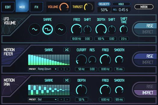 UVI Meteor |GUI Mod