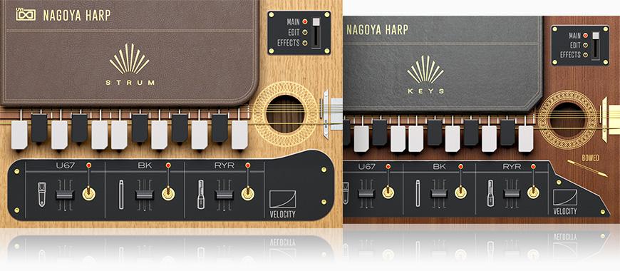 UVI Nagoya Harp | GUIS