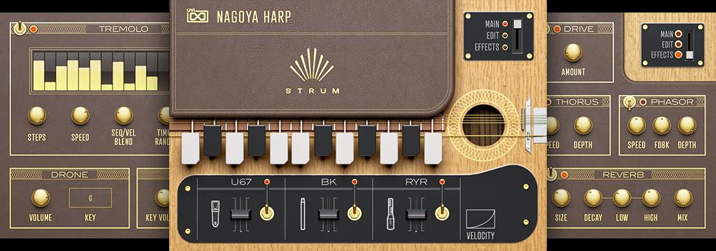 UVI Nagoya Harp | STRUM GUIS