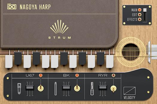 Nagoya Harp STRUM - Main GUI