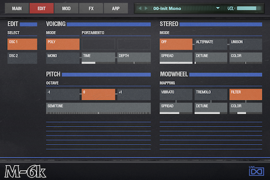 OB Legacy | M-6K Edit GUI