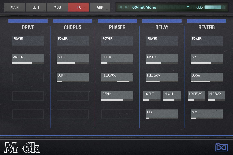 OB Legacy | FX Mod GUI