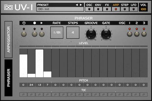 OB Legacy | UV-1 Arp GUI