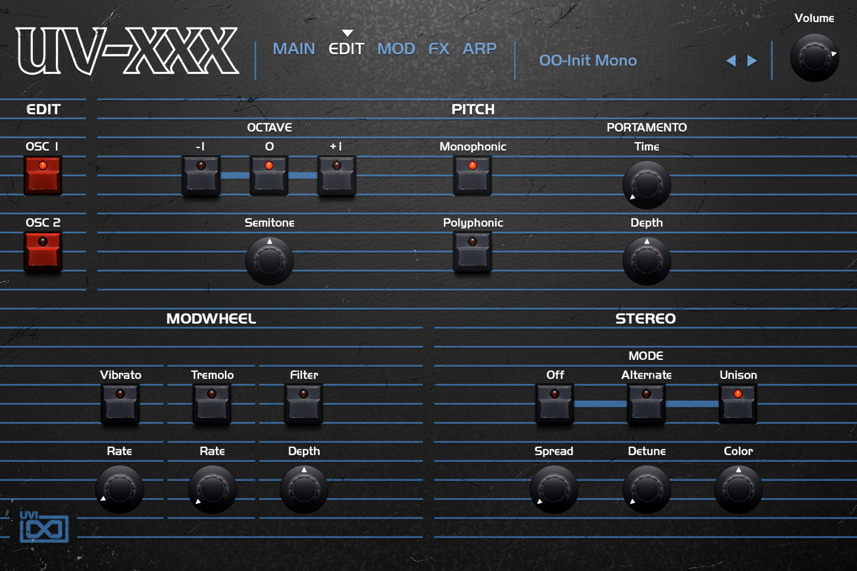 OB Legacy | UV-XXX Edit GUI