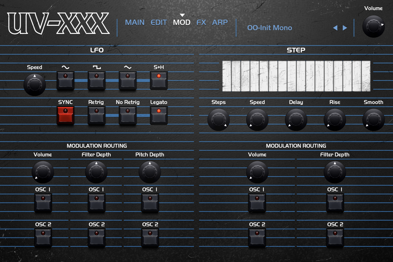 OB Legacy | UV-XXX Mod GUI