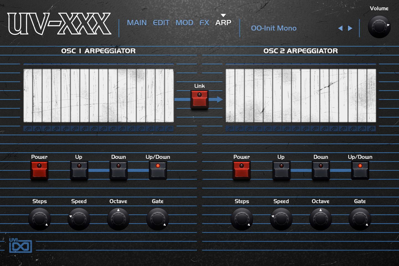 OB Legacy | UV-XXX Arp GUI