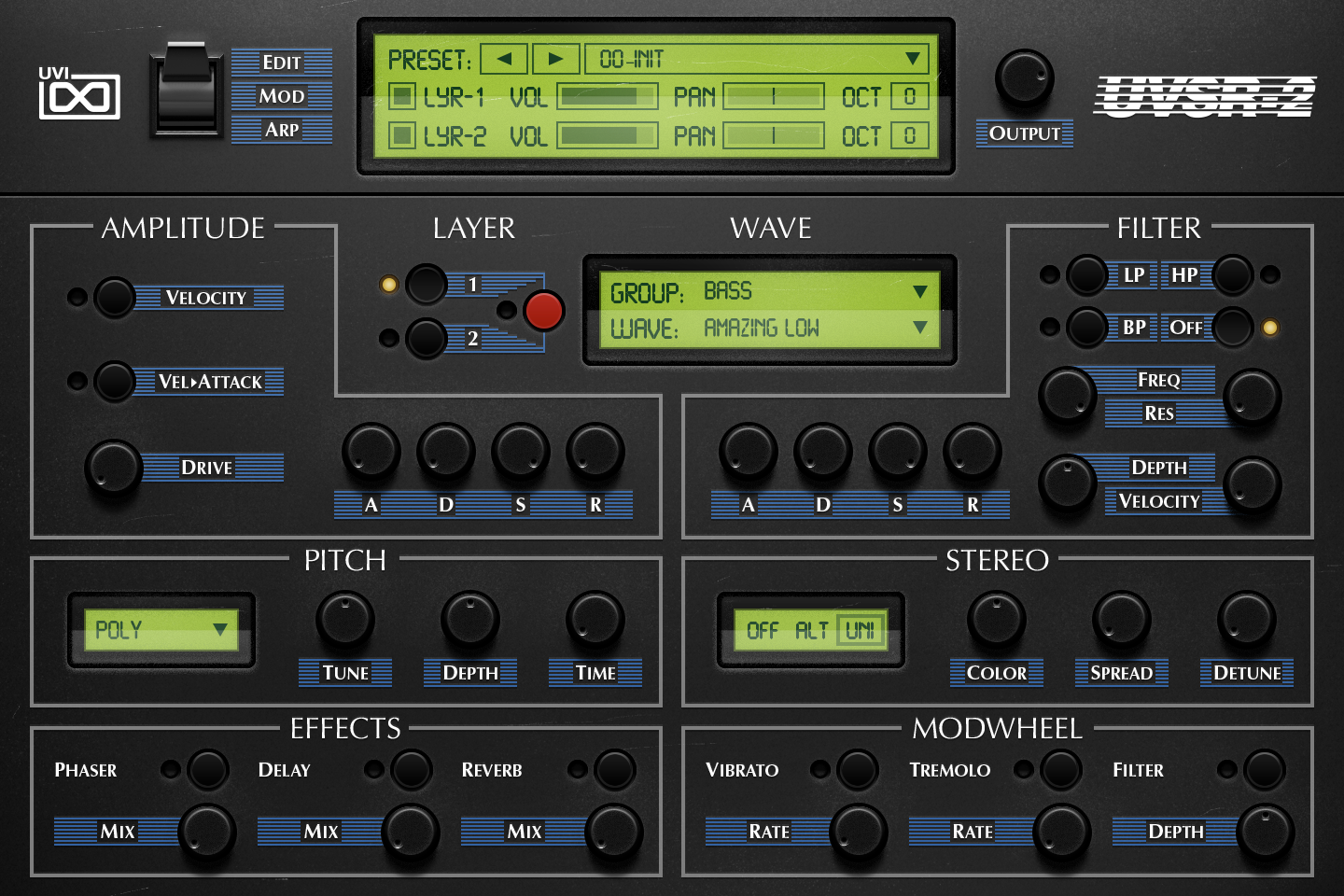 UVI Vintage Vault 2 - The Ultimate Vintage Synth Collection