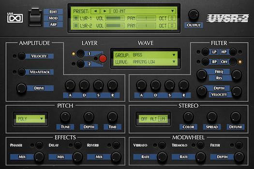 OB Legacy | UVSR-2 Edit GUI