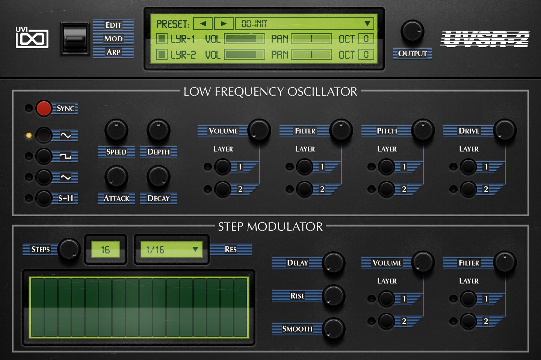 OB Legacy | UVSR-2 Mod GUI