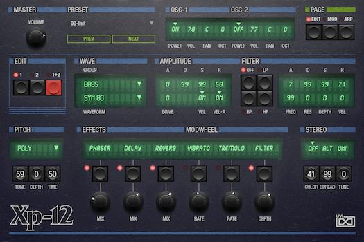 OB Legacy | XP-12 Edit GUI