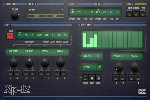 OB Legacy | XP-12 Mod GUI