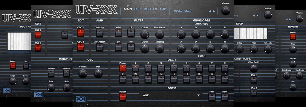 OB Legacy | UV-XXX GUI