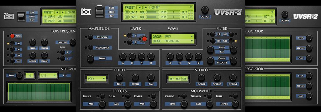 OB Legacy | UVSR-2 GUI